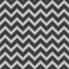 seamless halftone zigzag pattern