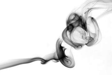 Curls of smoke