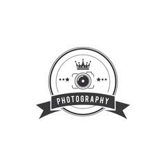 Photography Badge Creative Concept Logo Design