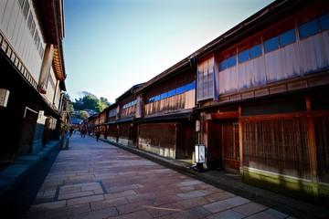 Higashi Chaya à Kanazawa, Japon