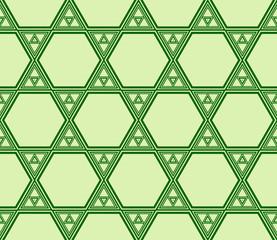 pattern of hexagons. vector illustration.