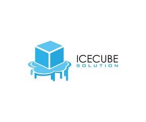 Ice cube logo
