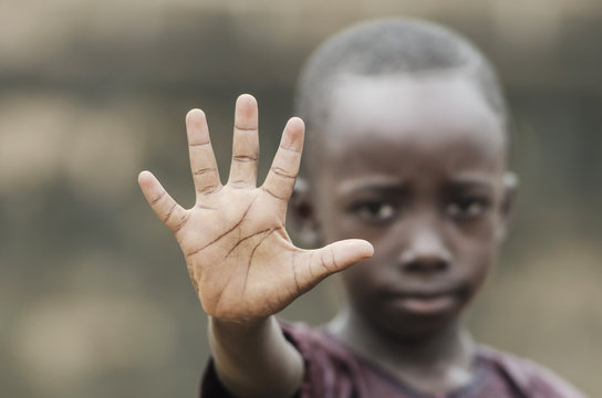 African Child Says STOP! To Racism and to War!