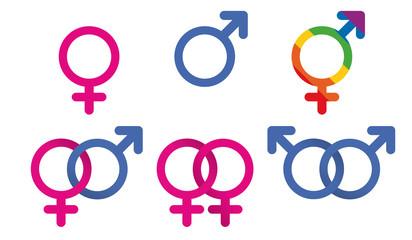 Sexualité - Sexes - Gay - Hétéro