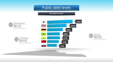 Public diagram infographics