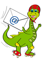 Email dinosauro
