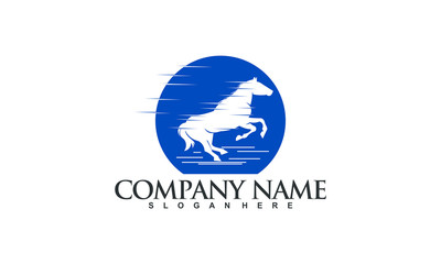 Horse Logo Illustration