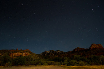 Starry Arizona Night