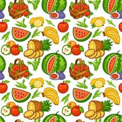 fruit big seamless pattern