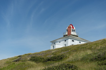 Lighthouse on Avalon Peninsula, Newfoundland, Canada