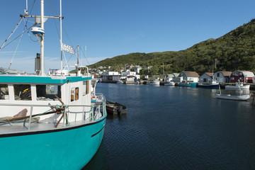 Fishing boats, Newfoundland, Canada