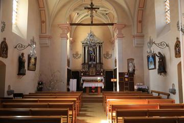 Choeur. Eglise Saint-André.