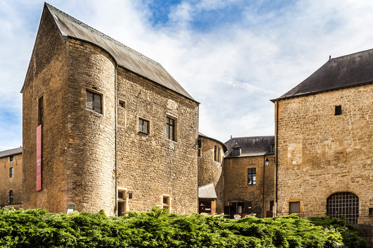 City of Sedan in Northern France