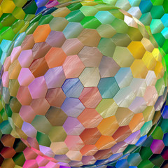 Abstract coloring background of the abstract gradient with visual lighting,mosaic,spherize and plastic wrap effects,good for your design