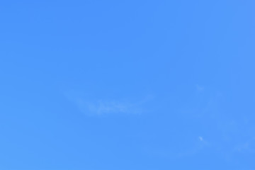 Real clear blue sky no cloud for background