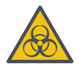 Biohazard symbol.