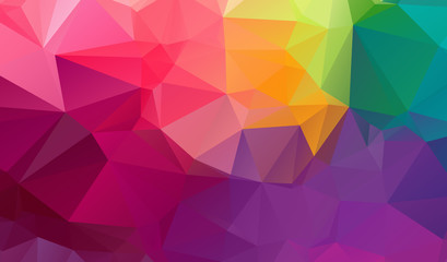Vector abstract pastel polygonal background