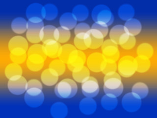 Soft sweet blurred background with bokeh. Abstract gradient desktop wallpaper.