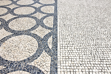 Typical Portuguese floor (Portugal - Europe)