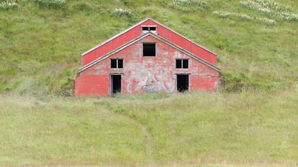 Old abandoned farmhouse