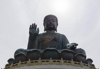 Big Buddha, landmark at Nong Ping, Hong Kong