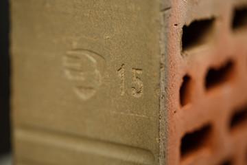 Closeup view of bricks
