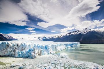 Gletscher Perito Moreno, Weitwinkelaufnahme