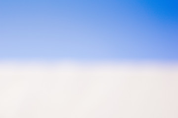 blue sky with soft white clouds copy space