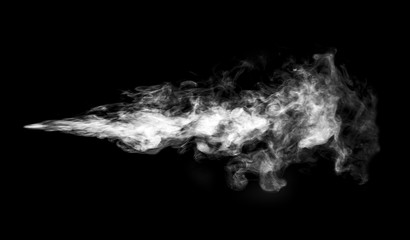 Fotobehang Rook Smoke or steam cloud.