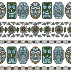 pattern ethnic mask 2