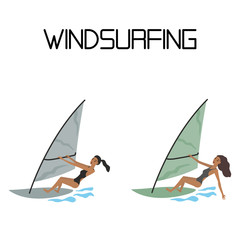 windsurfing.extreme sport