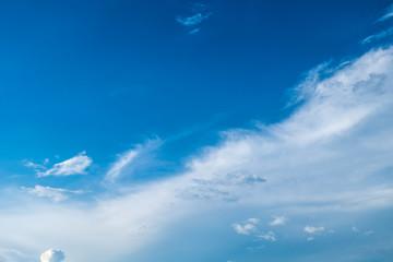 bule sky clouds