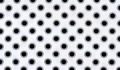 fabric background with polka dots