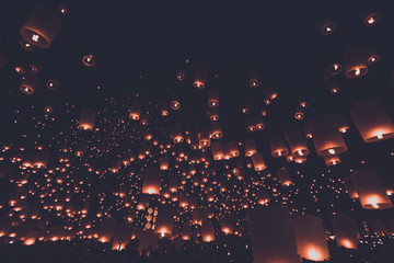 lantern festival vintage style