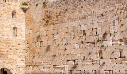 Western Wall of Temple, Jerusalem