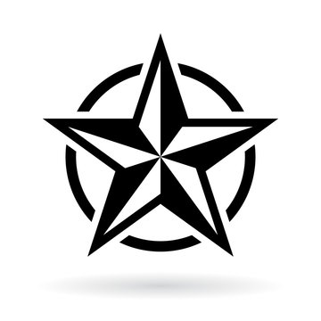 Star military icon