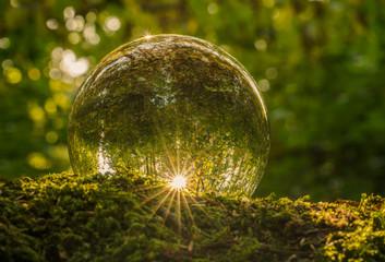 Leuchten in der Zauberkugel