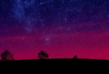 Morning sky stars