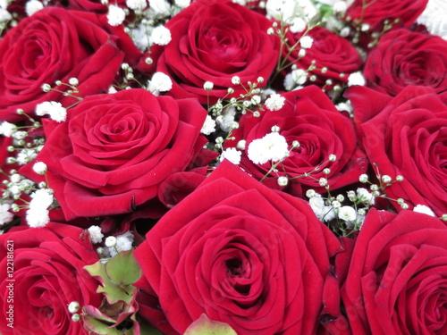 Hochzeitsblumen Dekoration Fur Tisch Einladung Feier Stock Photo