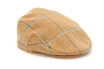 3de065235eb Green Tweed Hunting Flat Cap - Buy this stock photo and explore ...