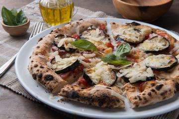 Sliced pizza gourmet