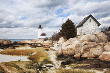 Annisquam Lighthouse; New England, Massachusetts, United States of America