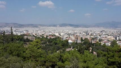 Athen - Tempel von Hephaestus, Forum