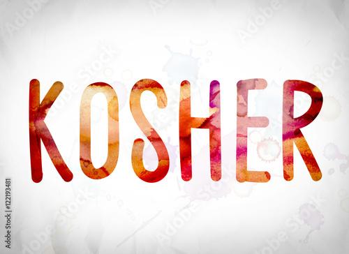 kosher concept watercolor word art stockfotos und lizenzfreie bilder auf bild. Black Bedroom Furniture Sets. Home Design Ideas