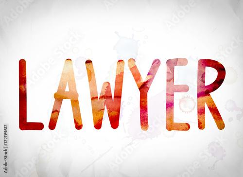lawyer concept watercolor word art stockfotos und lizenzfreie bilder auf bild. Black Bedroom Furniture Sets. Home Design Ideas