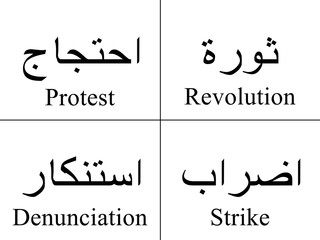 Arabic Words Of Reactions!