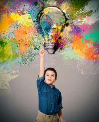 Fototapete - Young big idea