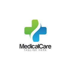 Medical Care Creative Concept Logo Design