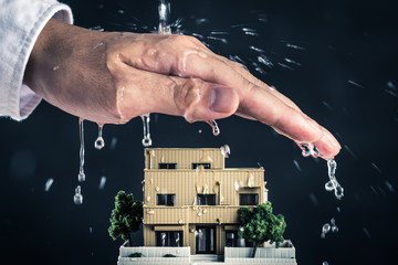 住宅と保護