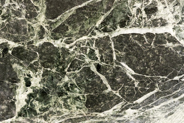 Black and white marble surface